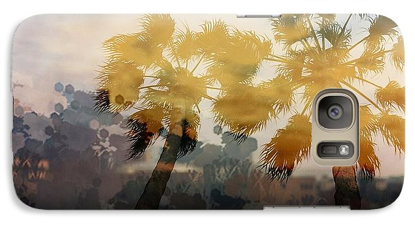 Galaxy Case featuring the photograph Palms by Susan D Moody