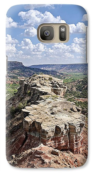 Palo Duro Canyon Galaxy S7 Case by Melany Sarafis