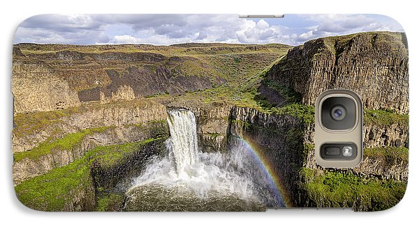 Galaxy Case featuring the photograph Palouse Falls by Albert Seger