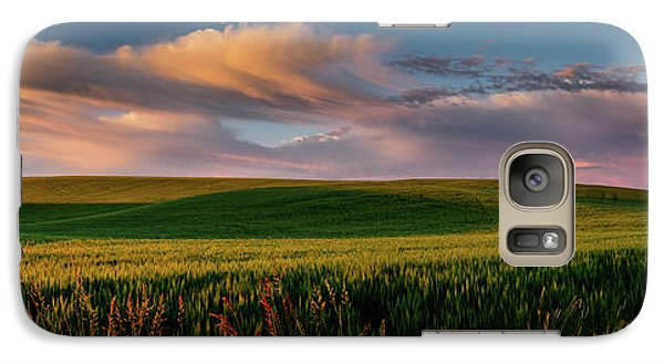 Galaxy Case featuring the photograph Palouse Tree Of Life by Dan Mihai