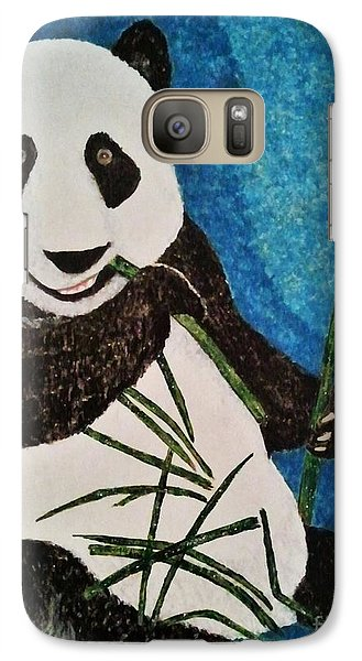 Galaxy Case featuring the painting Panda by Jasna Gopic