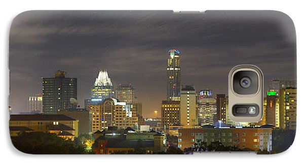 Panorama Of The Austin Skyline On A September Morning Galaxy S7 Case
