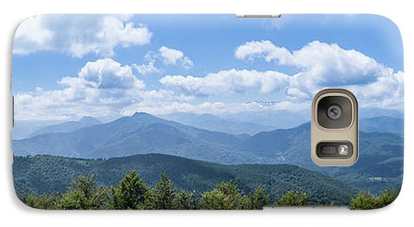 Galaxy Case featuring the photograph Panorama Of The Foothills Of The Pyrenees In Biert by Semmick Photo