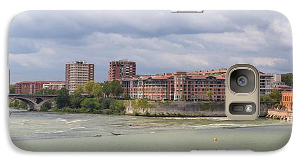 Galaxy Case featuring the photograph Panorama Of The Hydroelectric Power Station In Toulouse by Semmick Photo
