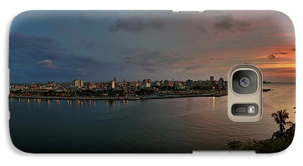Panoramic View Of Havana From La Cabana. Cuba Galaxy S7 Case