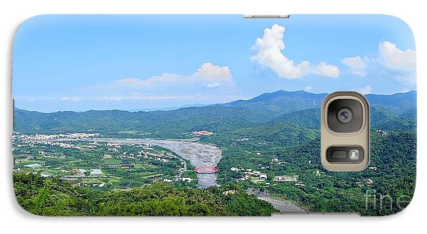 Galaxy Case featuring the photograph Panoramic View Of Southern Taiwan by Yali Shi