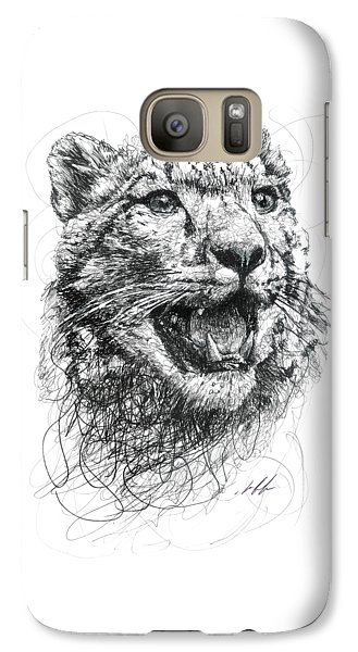 Leopard Galaxy S7 Case by Michael Volpicelli