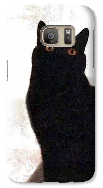 Panther The British Shorthair Cat Galaxy S7 Case