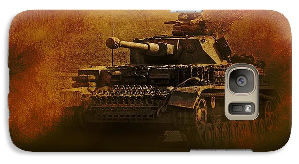 Galaxy Case featuring the digital art Panzer 4 Ausf G by John Wills