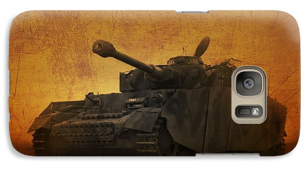 Galaxy Case featuring the digital art Panzer 4 Ausf H by John Wills