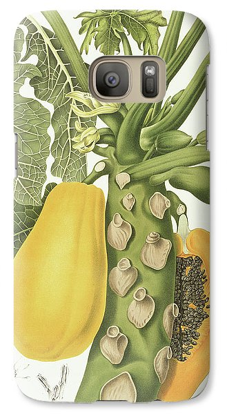 Mango Galaxy S7 Case - Papaya by Berthe Hoola van Nooten