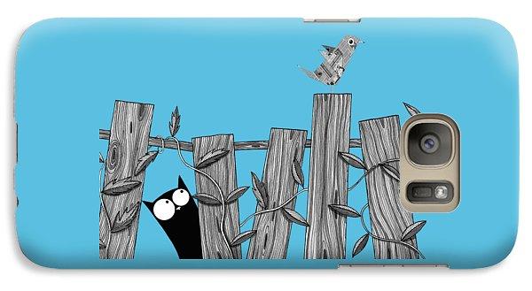 Paper Bird Galaxy S7 Case