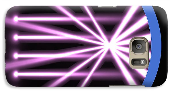 Galaxy Case featuring the digital art Parabolic Reflector 2 by Russell Kightley