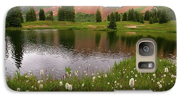 Galaxy Case featuring the photograph Paradise Basin by Steve Stuller