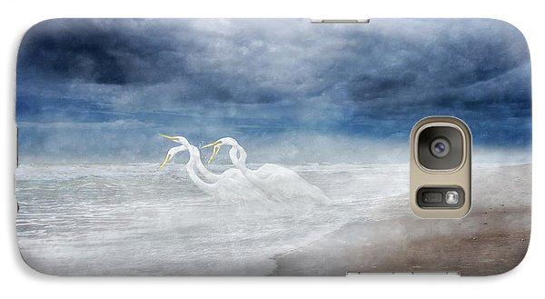 Paradise Dreamland  Galaxy Case by Betsy Knapp