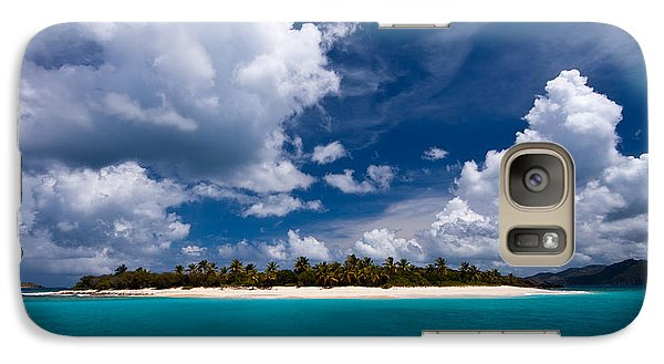Paradise Is Sandy Cay Galaxy S7 Case by Adam Romanowicz
