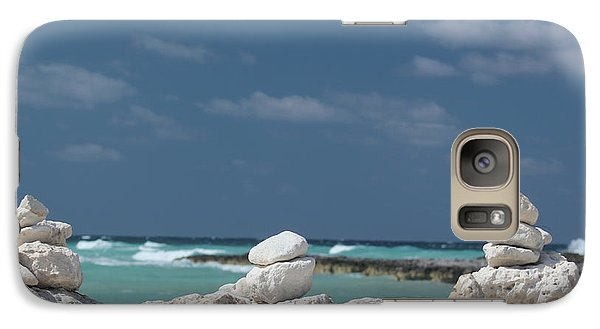 Paradise Island Galaxy S7 Case