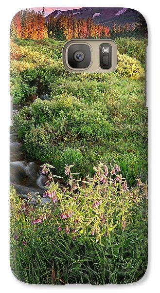 Galaxy Case featuring the photograph Paradise  by John De Bord