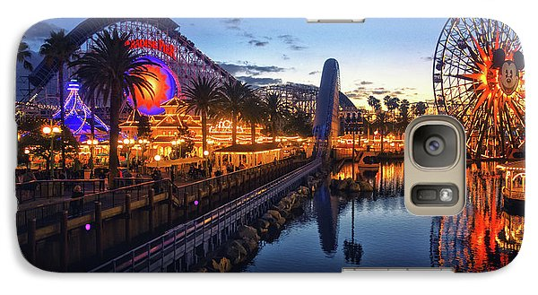 Paradise Pier Sunset Galaxy S7 Case
