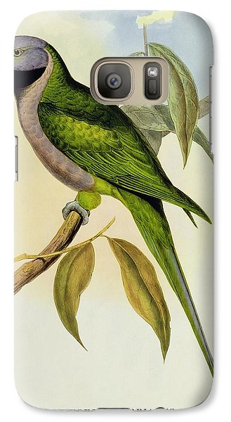 Parakeet Galaxy S7 Case by John Gould