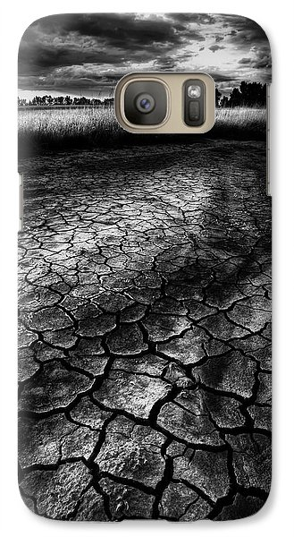Galaxy Case featuring the photograph Parched Prairie by Dan Jurak