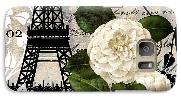 Paris Blanc I Galaxy S7 Case by Mindy Sommers