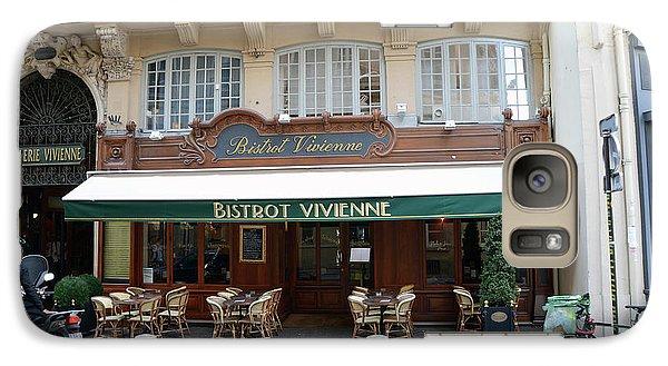 Galaxy Case featuring the photograph Paris Cafe Bistro - Galerie Vivienne - Paris Cafes Bistro Restaurant-paris Cafe Galerie Vivienne by Kathy Fornal