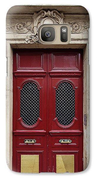 Galaxy Case featuring the photograph Paris Doors No. 17 - Paris, France by Melanie Alexandra Price