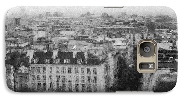 Paris In The Rain  Galaxy S7 Case