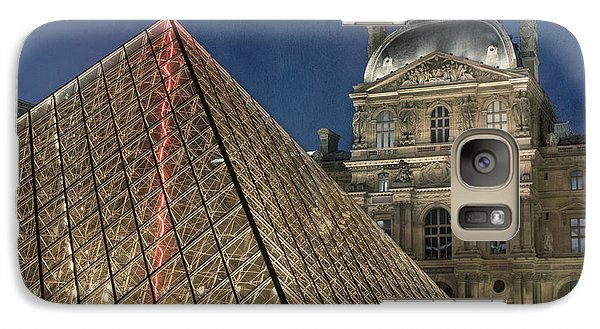 Louvre Galaxy S7 Case - Paris Louvre by Juli Scalzi