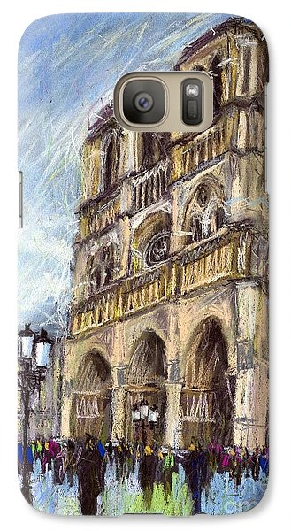 Paris Notre-dame De Paris Galaxy S7 Case