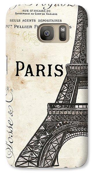 Eiffel Tower Galaxy S7 Case - Paris, Ooh La La 1 by Debbie DeWitt
