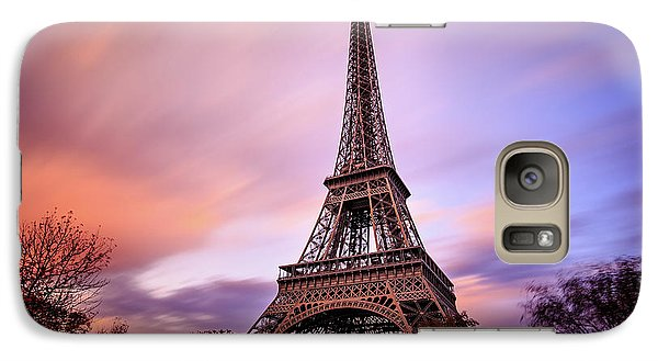 Galaxy Case featuring the photograph Paris Pastels by Jennifer Casey