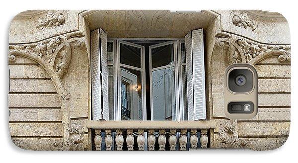 Galaxy Case featuring the photograph Parisian Balcony by Ivy Ho