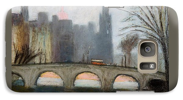 Galaxy Case featuring the painting Parisian Gray by Gary Coleman