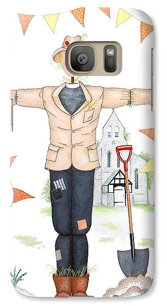 Parson Scarecrow Galaxy S7 Case by Sandra Moore