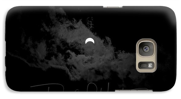 Partial Eclipse, Signed. Galaxy S7 Case