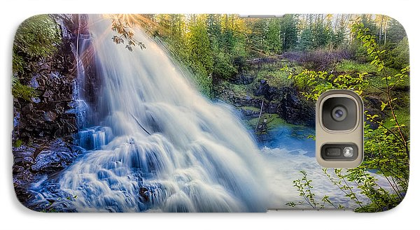 Galaxy S7 Case featuring the photograph Partridge Falls In Late Afternoon by Rikk Flohr
