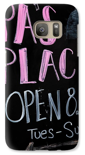 Galaxy Case featuring the photograph Pa's Place by Karol Livote