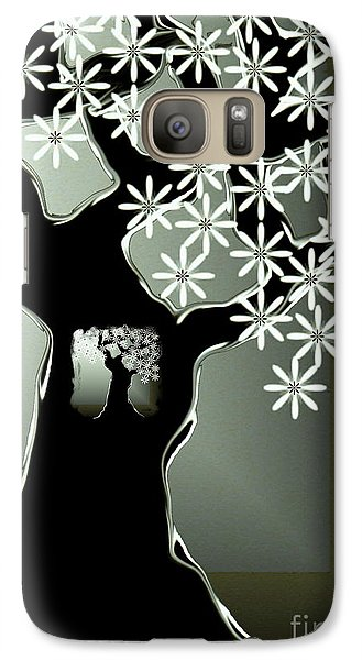 Galaxy Case featuring the digital art Passages by Misha Bean