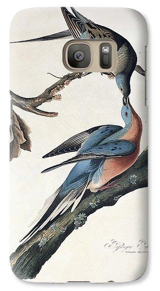 Pigeon Galaxy S7 Case - Passenger Pigeon by John James Audubon