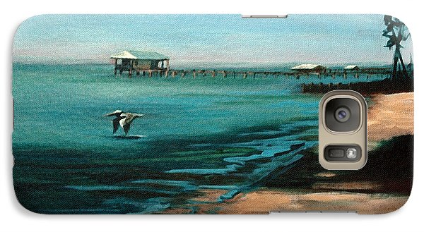 Galaxy Case featuring the painting Passing By Again by Suzanne McKee