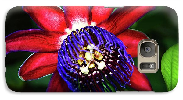 Galaxy Case featuring the photograph Passion Flower by Anthony Jones