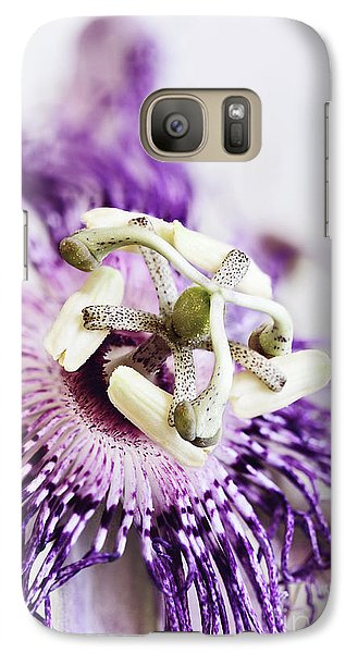 Galaxy Case featuring the photograph Passion Flower by Stephanie Frey