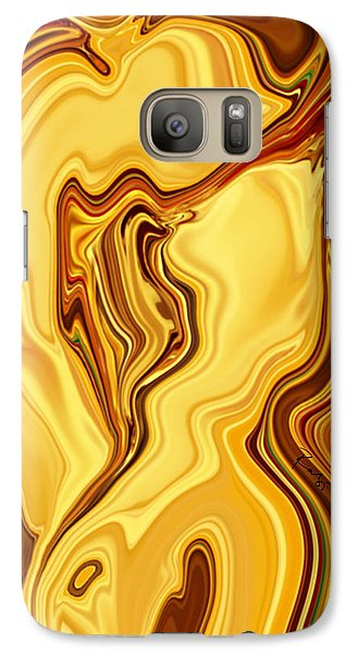Galaxy Case featuring the digital art Passion by Rabi Khan