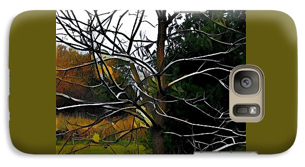 Galaxy Case featuring the photograph Past The Branches by Diane Miller