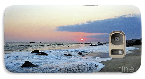 Galaxy Case featuring the photograph Pastel Blue by Victor K