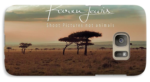Galaxy Case featuring the photograph Pastel Dawn On The Mara by Karen Lewis