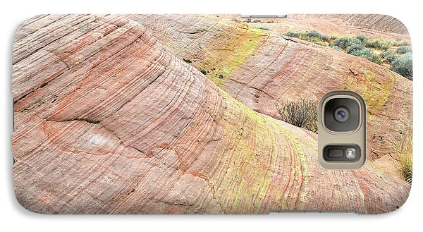 Galaxy Case featuring the photograph Pastel Dunes In Valley Of Fire by Ray Mathis