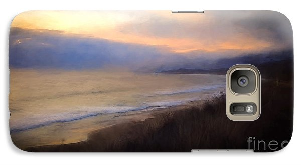 Galaxy Case featuring the photograph Pastel Sunset by John A Rodriguez